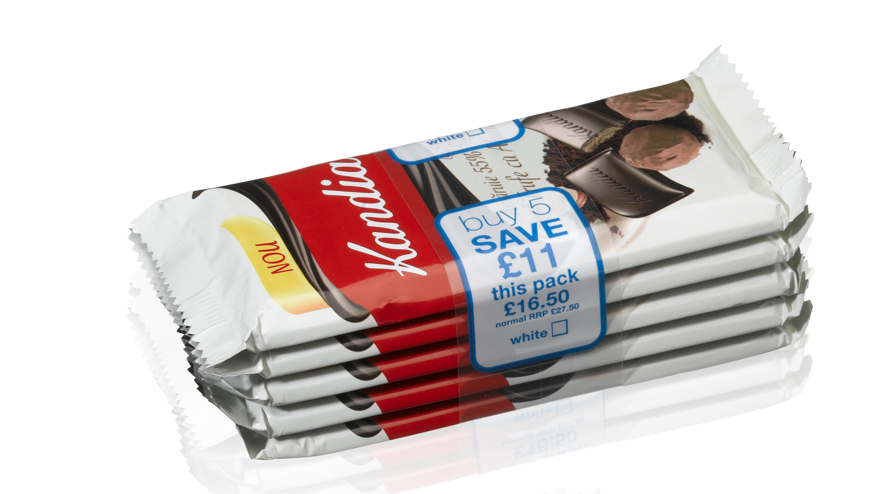 An example of promotional package bundling using banding systems